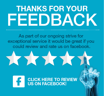 Invitation to Leave Feedback on our Facebook page