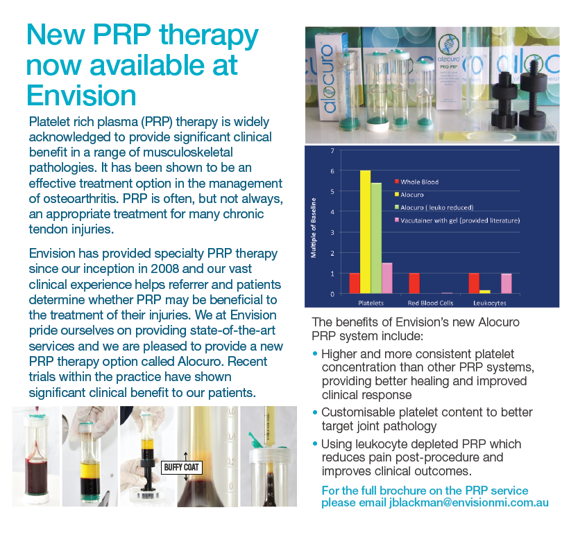 New PRP Therapy